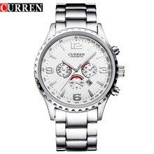 Curren мужчины часы лучший бренд класса люкс мужчины военные наручные часы полный стали мужчины спортивные часы водонепроницаемый Relogio Masculino Montre