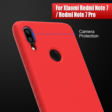 Redmi nota 7 pro caso nillkin para xiaomi redmi nota 7/7 s silicone suave capa protetora traseira redmi nota 7 versão global 6.3