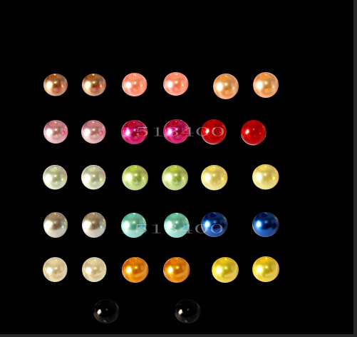 BZZ00171    4mm 300pcs 18 color, ABS Imitation Pearls Beads, Making jewelry diy beads, Jewelry Handmade necklace