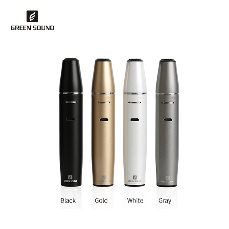 GreenSound Vape TOBA ICOS Kit de vaporisateur de Cigarette électronique 1500mah Vaper Cigarettes Vape stylo pour ICos vapeur narguilé tabac