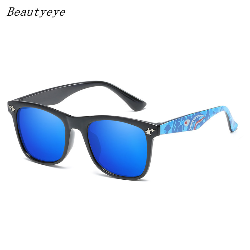 Beautyeye Children Sunglasses Boys Girls Kids Cute Safety Coating Glasses UV 400 Protection Fashion Shades Oculos De Sol Uv400