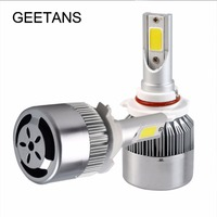 LED H4 H7 H13 H11 H1 9005 9006 H3 9004 9007 9012 COB LED Headlight 72W