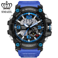 SMAEL Watch Men Sport Fashion Big Watches for Men relogio militar Quartz Watch mens watches top brand luxury montre homme WS1617