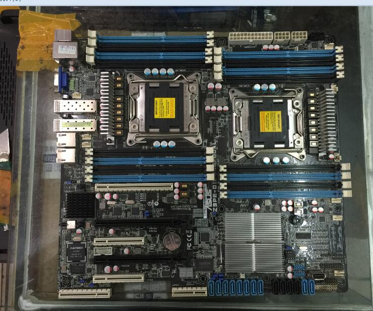 ASUS Z9PE-D16-10G/DUAL Motherboard 2011 Dual Integrated 10G Network Server Motherboard Used 90%new