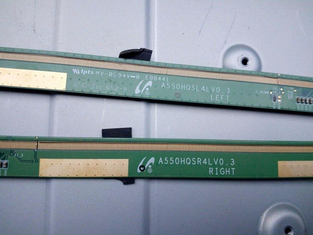 ФОТО A550HQSL4LV0.3 A550HQSR4LV0.3 LCD Panel PCB Parts A Pair