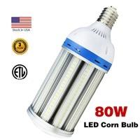 80W Led Corn Light Bulb,E39 Large Mogul Screw Base,250W 400Watt Replacement,5000K Cool White,for Garage,Street Area Lighting