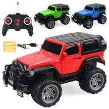 Das crianças Modelo de Carro de Controle Remoto 1:18 Recarregável Carro Cross-country Racing Car Brinquedos Para Crianças Hobbies Brinquedo Ação figuras