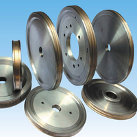 1pc 6 diamond pencil grinding wheel for 3~12mm glass round edge processing bronze bond wheel