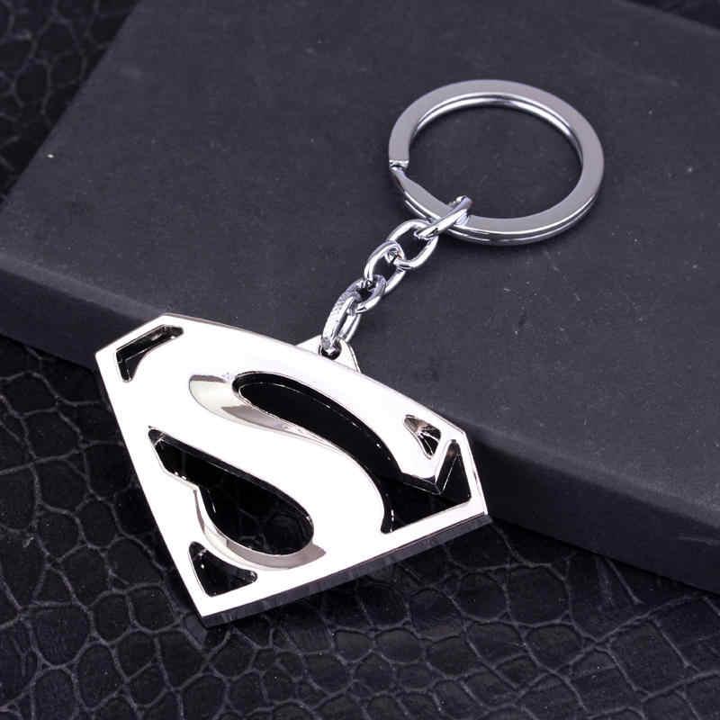 Mqchun batman chaveiro super-herói chaveiros superman batman chaveiro porta-chaves para carros fãs lembranças presente-50