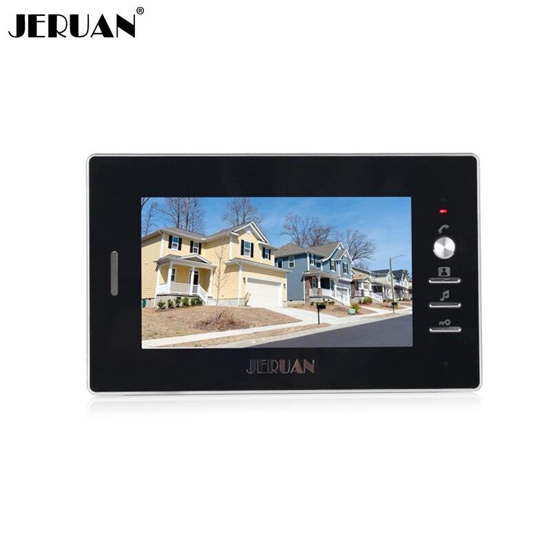 Genossenschaft Jeruan Freies Verschiffen 7 Zoll Video Tür Telefon Türklingel Video Tür Sprechanlage System 720b Indoor Türsprechstelle Power Adapter Innen-monitor