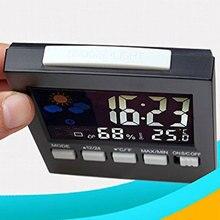 Zegar Budzik Termometr LCD dla Dziecka
