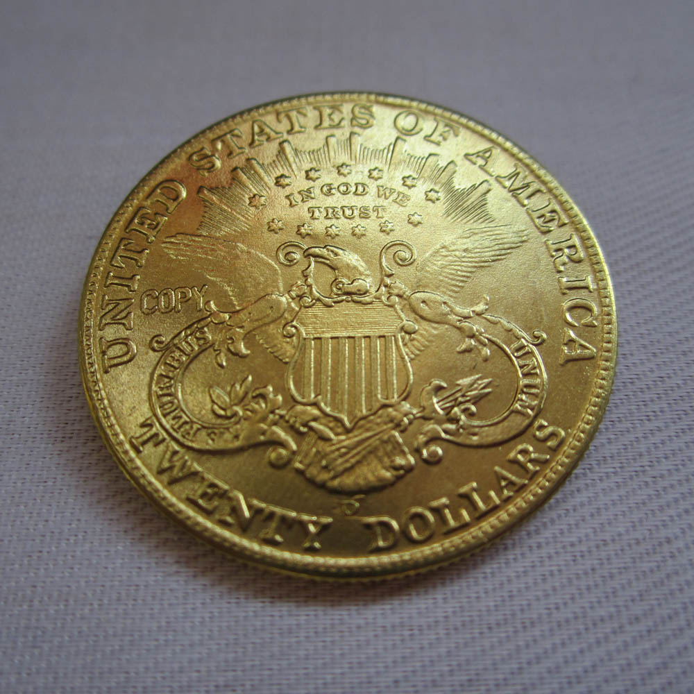 US $2 8 |1906 D USA Liberty Head (Motto on Reverse)$20 Gold Coins COPY-in  Non-currency Coins from Home & Garden on Aliexpress com | Alibaba Group