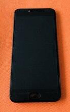 Б/у Оригинальный ЖК дисплей + дигитайзер, сенсорный экран + рамка для UMIDIGI C NOTE 2 MTK6750T, Восьмиядерный, 5,5 дюйма, FHD, бесплатная доставка