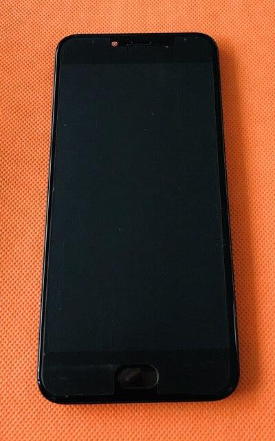 중고 lcd 디스플레이 + 디지타이저 터치 스크린 + 프레임 umidigi c note 2 mtk6750t octa core 5.5 인치 fhd 무료 배송