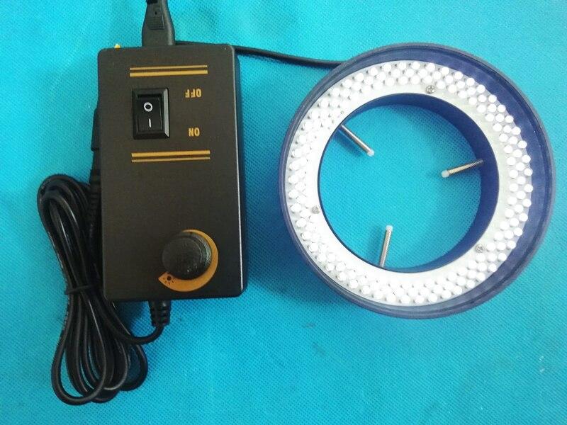 120*80 Microscope lampe Source Instrument éclairage LED anneau lumière blanc lumières diamètre intérieur 80mm Machine Vision lumière LED