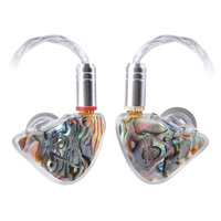 TONEKING BL1 14MM Flat Diaphragm Driver In Ear Earphone Customer Monitor Earbuds With MMCX Detachable Upgraded Silver Cable