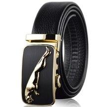 Oro jaguar cinturones para hombres cinturón de lujo super microfibra de  cuero de gran tamaño de plata 180 cm 170 cm 160, 150, 14. 4ca612e05a0