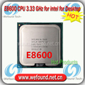 Original for Intel Core2 DUO E8600 Processor 3.33GHz / 6MB Cache / Dual Core / Socket LGA 755 / Dual-Core / Desktop E8600 CPU