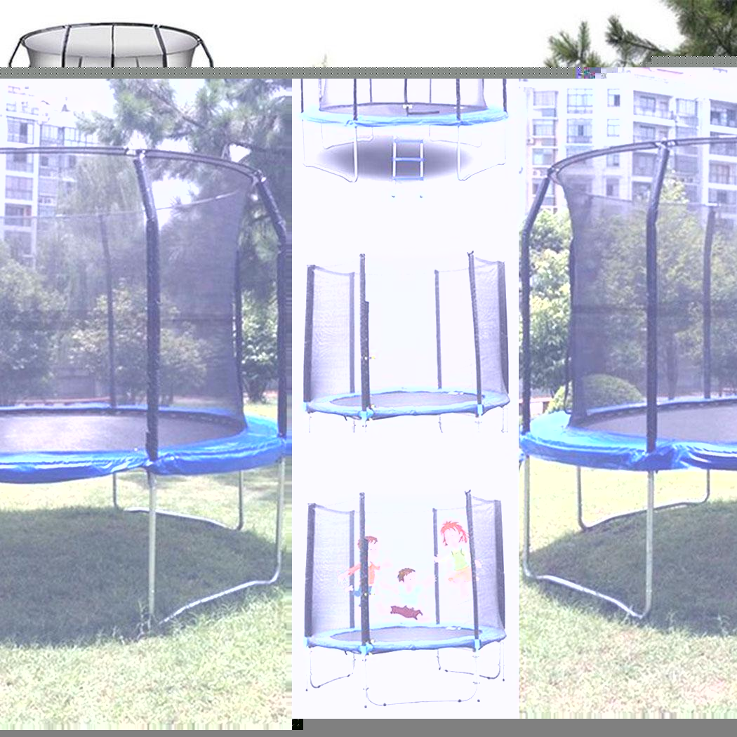 Outdoor Replacement Trampoline Bounce Safety Net for Round Frame Trampoline