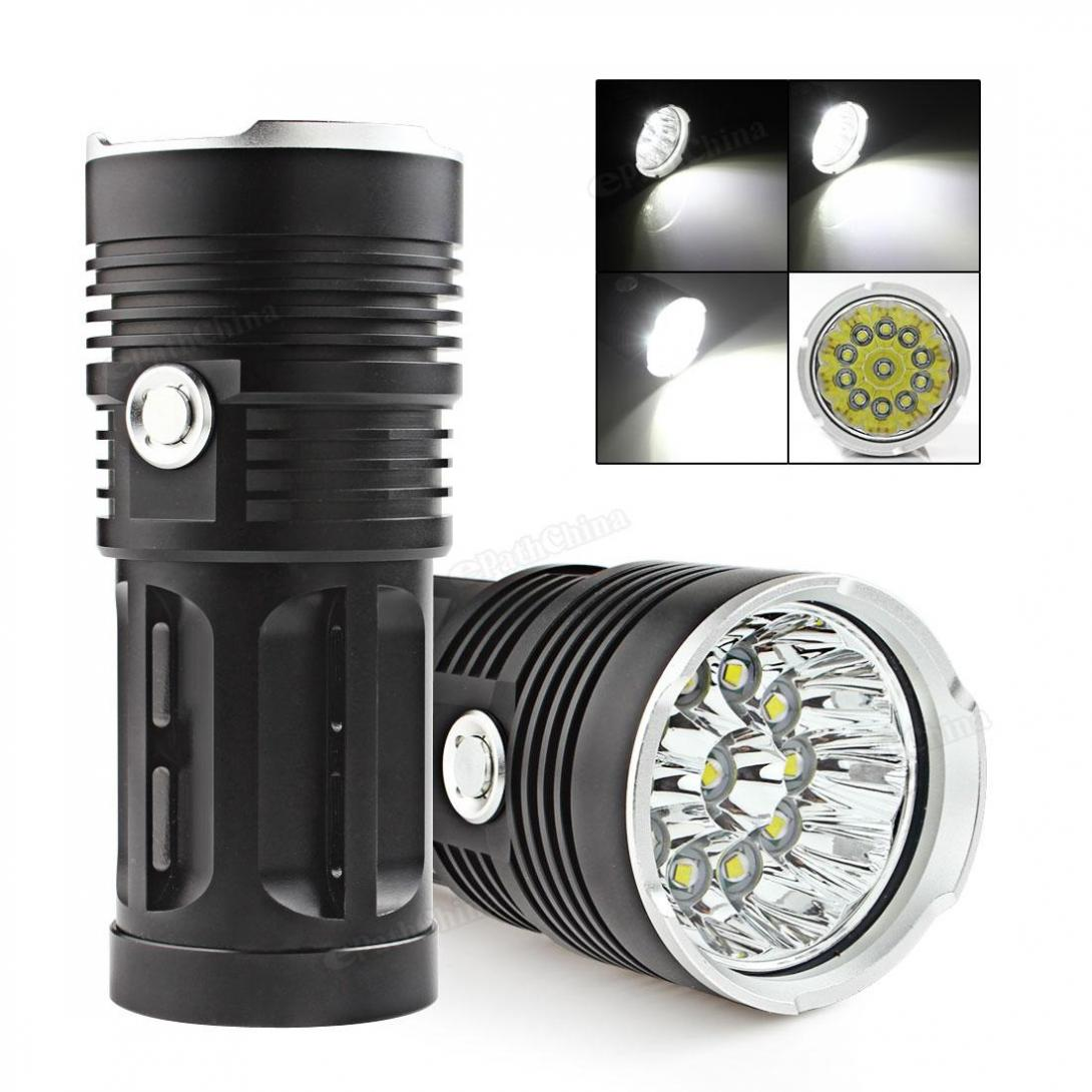 Waterproof Super Bright LED Flashlight 2600LM 11 x XML-T6 LED Hunting Fishing Flash Light Torch Lamp super bright 72000lm 5 mode 28 xml t6 led flashlight torch flash light lamp for outdoor hunting with 4 26650 battery
