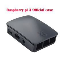 Raspberry Pi 3 Official Case Professional Black ABS Enclosure Box For Raspberry Pi 3 Model B Plastic Protective Case for RPI 3