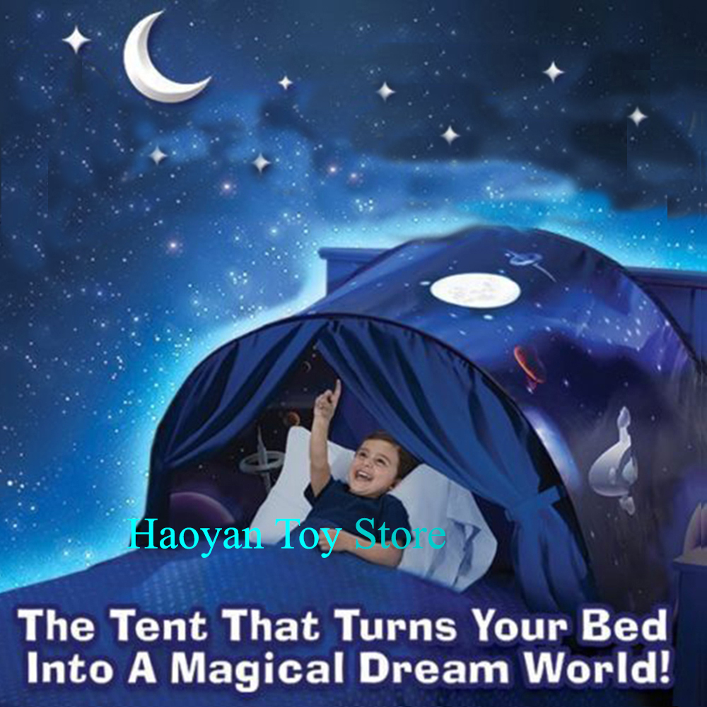 3 Style Bed Star Tent Playhouse Winter Wonderland Children Christmas Gifts Tent Teepee Drop Shipping цена и фото