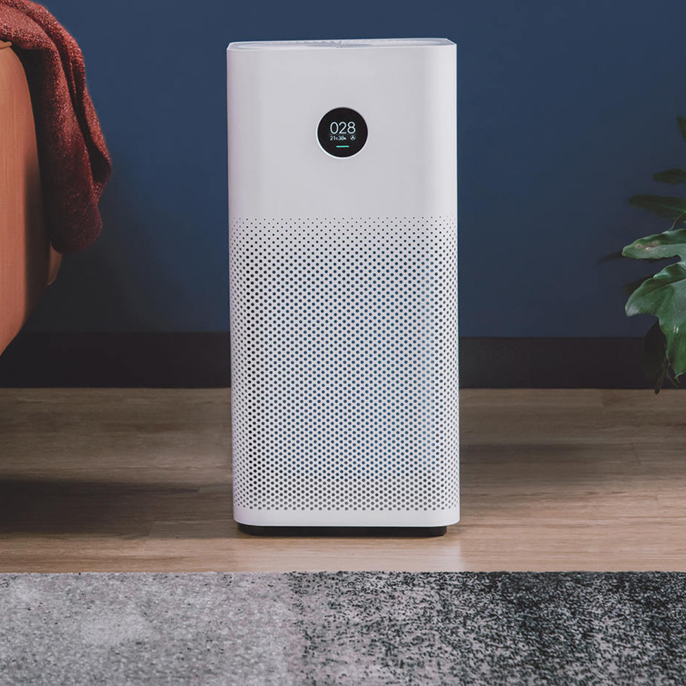 Original Xiaomi Smart Air Purifier 2S OLED Display Smartphone Mi Home APP Control Smoke Dust Peculiar Smell Cleaner xiaomi mi smart air purifier 2nd gen hepa home air cleaner app control