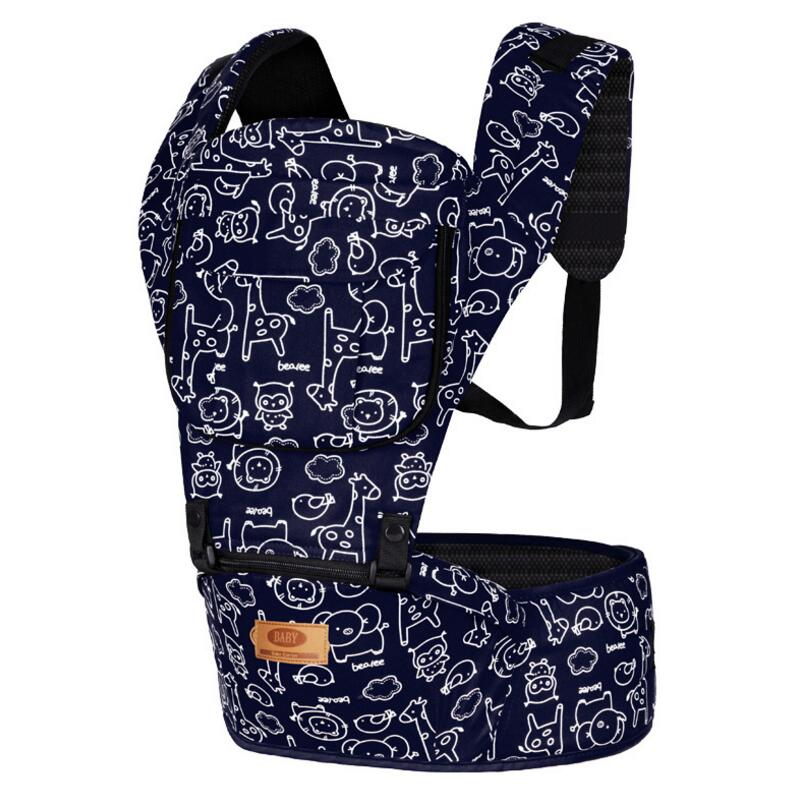 цена на New Upgraded Baby Carrier Front Facing Hipseat Infant Baby Sling Backpack Pouch Wrap Baby Kangaroo for Baby 0-36 Months