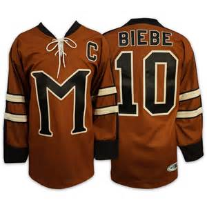 Biebe Jersey 20 Birdie Burns Mystery Alaska Ice Hockey Jersey Stitched Men's Hockey Jerseys Brown Free Shipping VIVA VILLA 2015 61 men s hockey jersey