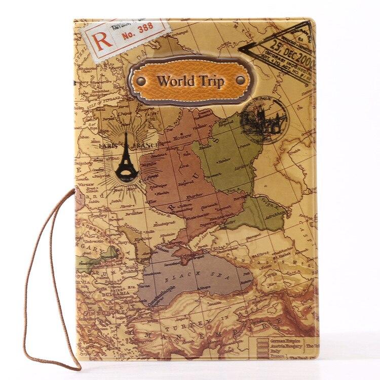 viagem capa de passaporte, bolsaagem Largura do Item : 3.8inch