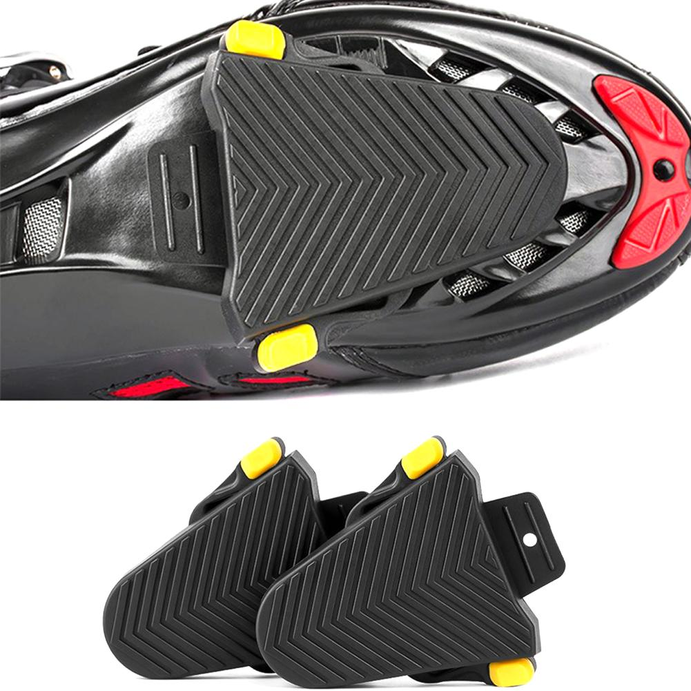 A Pair of High-quality Cleat Cover Bike Pedal Cleats Quick Release Rubber Cleat Protective Cover Non-slip Durable to Use