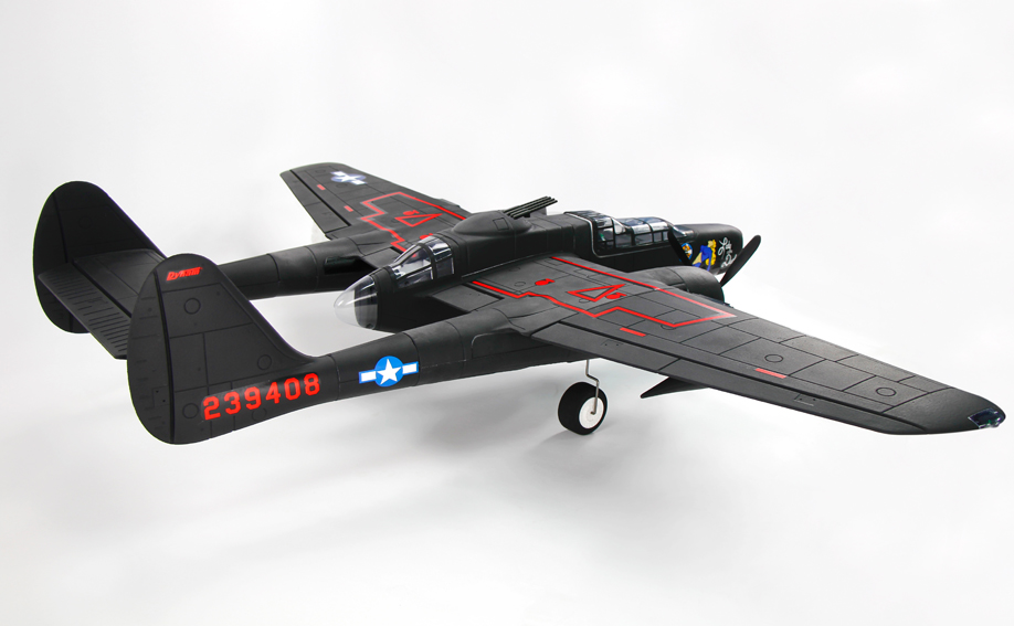 Dynam Jet 1500MM P-61 Black Widow RC Airplane PNP Propeller Model ESC Propeller Motor wltoys f929 f939 rc airplane spare part motor base with propeller 022