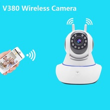 V380 Home Security IP Camera Wireless Smart WiFi Camera WI-FI Audio Record Surveillance Baby Monitor HD Mini CCTV Camera купить недорого в Москве
