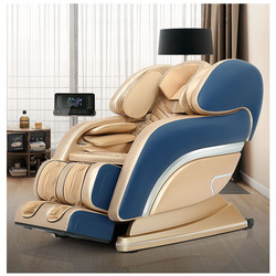 4d Robot Sl Massage Chair Household Fully Automatic Full Body Electric Space Capsule Sofa Multifunctional Kneading Massager