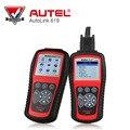 Autel Автоссылка AL619 AUTO CAN OBDII Code Reader + ABS/SRS Диагностика С Цветной жк-Дисплей Online Update Diagnostic-инструмент