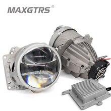 LRD 3 дюйма двойной объектив Авто Би-светодиодный объектив проектора фара 32 Вт/40 Вт 5500K Hi Lo луч светодиодное автомобильное освещение с Canbus 12 В