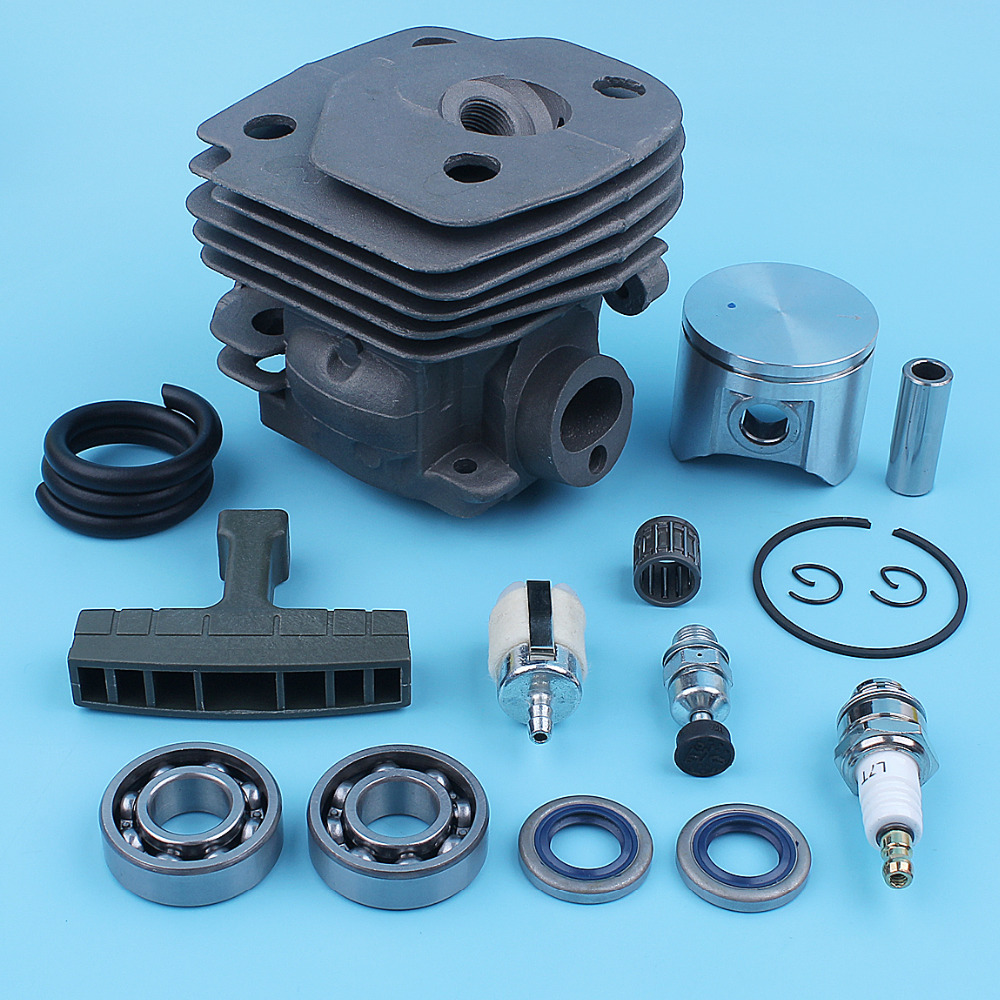 For Bearing 47mm 2159 2159 Cylinder 2156 Piston CS 2156 CS EPA Set CS2156 Chainsaw Ball Kit CS2159 Jonsered EPA Nikasil Gasket