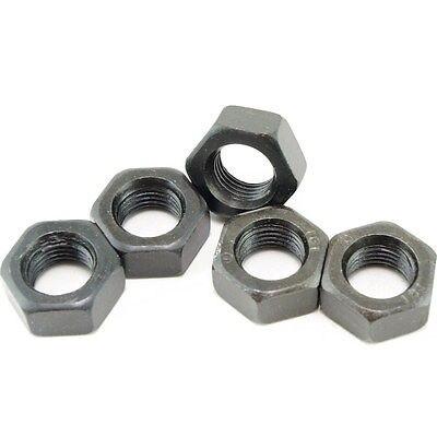 Lot25 Metric M18 1.5mm Fine Pitch Thread Nuts Black FinishLot25 Metric M18 1.5mm Fine Pitch Thread Nuts Black Finish