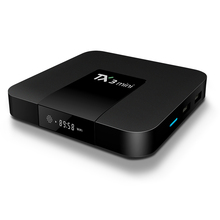 Best Selling TX3 Mini TV Box 2GB RAM 16GB ROM Amlogic S905W Quad Core Android 7.1 Smart TV Box with M3U IPTV Subscription 5000CH rikomagic us mk902 quad core android 4 2 google tv player w 2gb ram 16gb rom mk750 air mouse