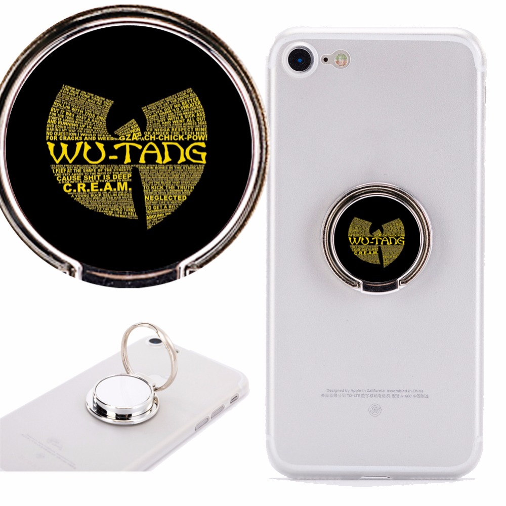 Wu Tang Clan Phone Holder Stand Mount 360 Degree Rotation Car phone