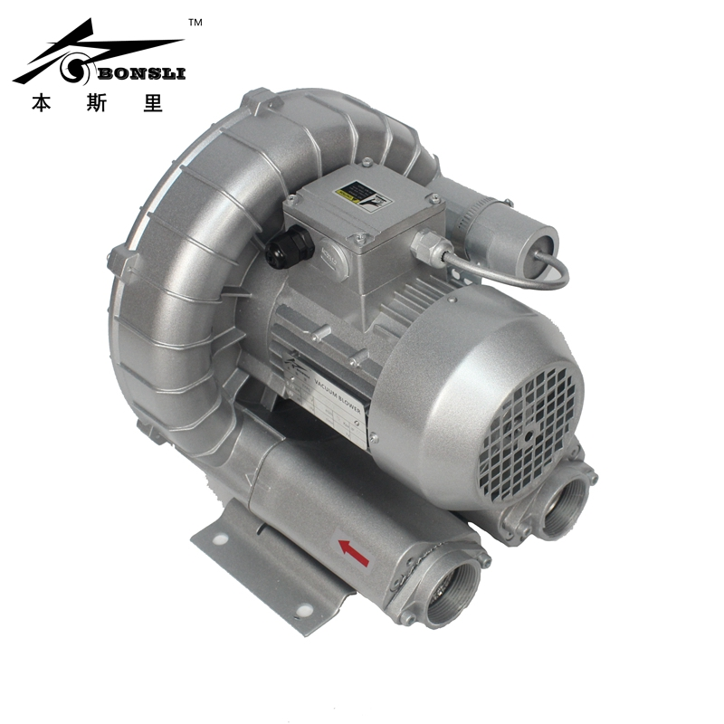 Side Channel Ring Blower 0.75kw vacuum pump air blower Regenerative Blower and For Paper Cutting Machine jqt 1100 c vortex gas blower side channel blower small air blower dry vacuum pump