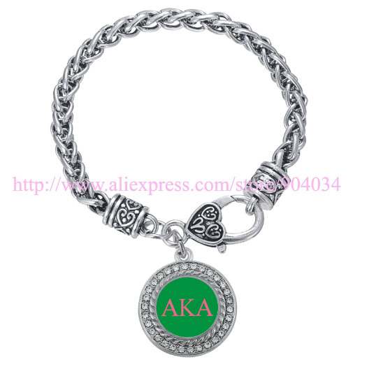 Customized Bracelet Jewelry  for Sorority and Fraternity custom charm bracelet 1pc free shipping