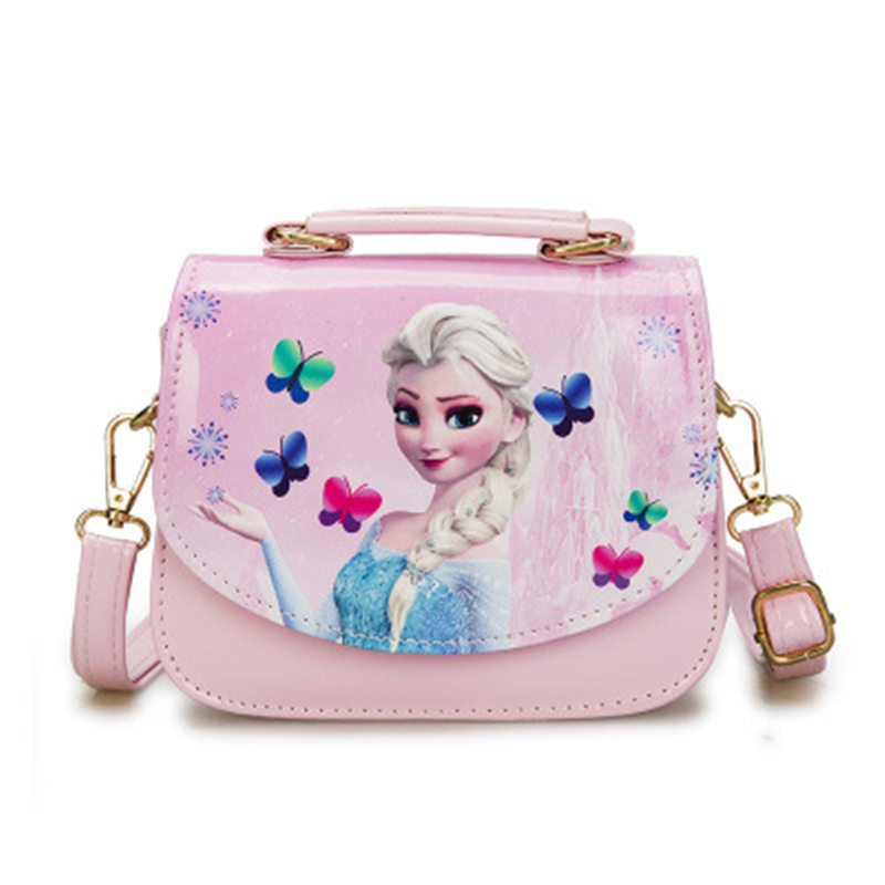 Functional Bags Lunch Bags Disney Cartoon Frozen Children Lunch Bags Student Elsa Waterproof Package Girl Boy Kid Portable Bag Storage Handbag Princess