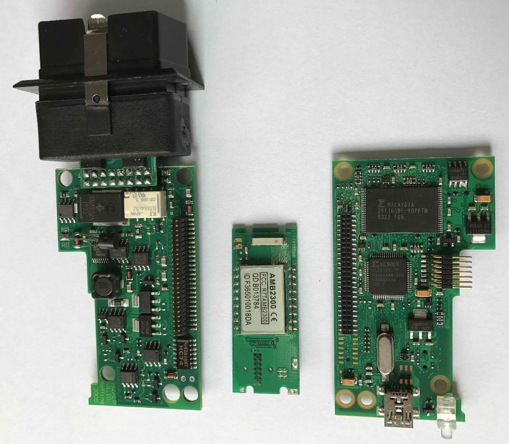 2017 DHL GRÁTIS! Chip de importação original NOVO top multi língua vas 5054a scanner versão VAS5054 vas 5054 Bluetooth vas5054a - 2