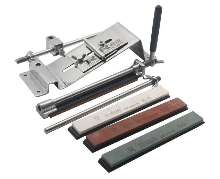 Newest Kitchen Apex pencil sharpener system fix edge wicked lansky sharpening system 4 whetstone