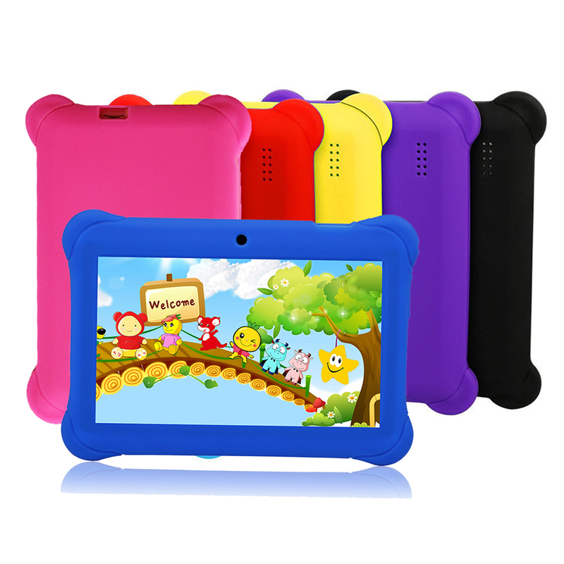 Tablets PC 7.0 Inch 1024*600 IPS HD 8GB WIFI Android 5.1 Quad Core Google Play Ultra Thin Dual Camera Tab PC Kids Tablets 7
