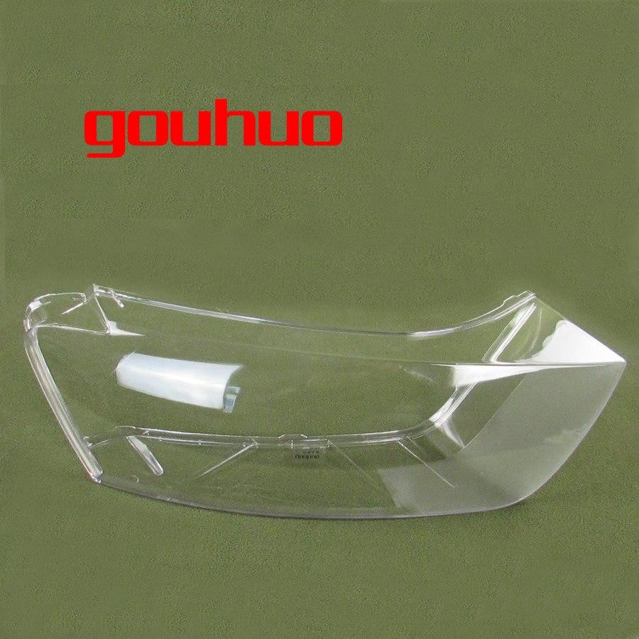 Для Audi Q3 10-15 фар прозрачный абажур фар крышка абажур фары оболочки Стекло 2 шт.