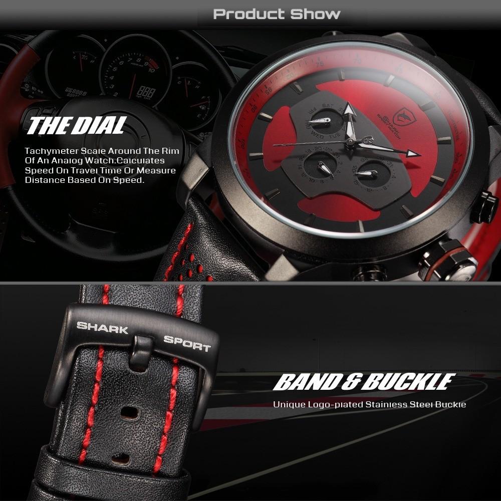 HTB1fR2SFVXXXXakXVXXq6xXFXXXO - Requiem Shark Sport Watch - Red SH207
