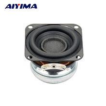 Aiyima 1PC 1.5 inch 4Ohm 10W Full Range Audio Bass Speaker Stereo Woofer Loudspeaker Horn