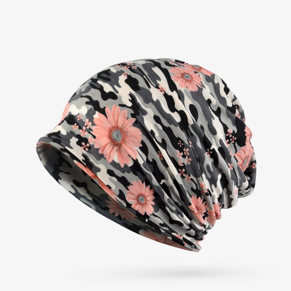 2018 new printing hip hop cap head hat or scarf multi-function plus velvet cap spring and autumn winter men or women